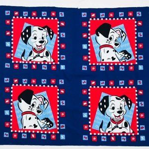 "Disney 101 Dalmatians Fabric For Pillow 45"" x 36"""